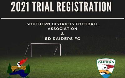 2021 SD Raiders Trials