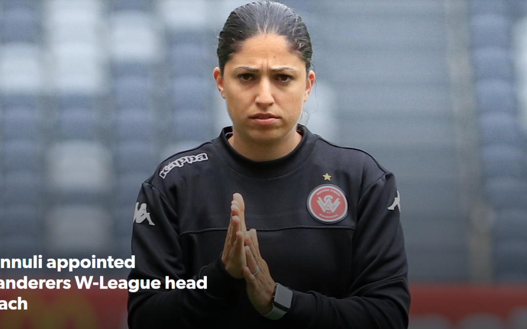 Catherine Cannuli appointed Wanderers W-League Head Coach
